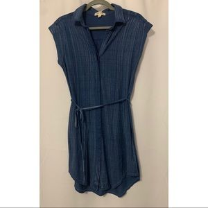 Cloth & Stone Sleeveless Shirt Dress Size XS